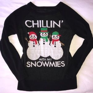 Sweaters - Chillin With My Snowmies Christmas Sweater